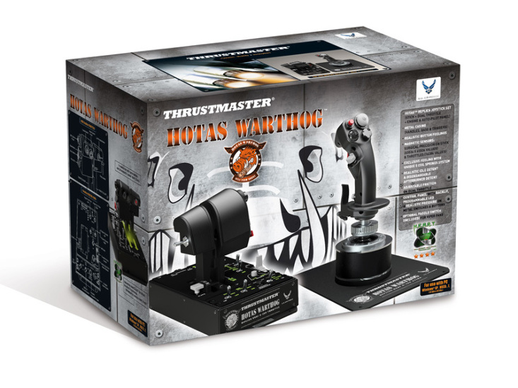 Thrustmaster Hotas Warthog Flight Stick Controller Split