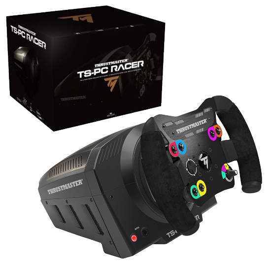 thrustmaster ts pc racer racing wheel for pc new ebay. Black Bedroom Furniture Sets. Home Design Ideas