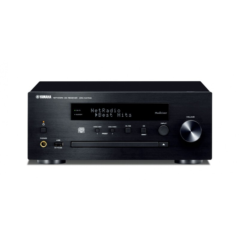 yamaha crx n470d compact hifi with cd dab radio black. Black Bedroom Furniture Sets. Home Design Ideas