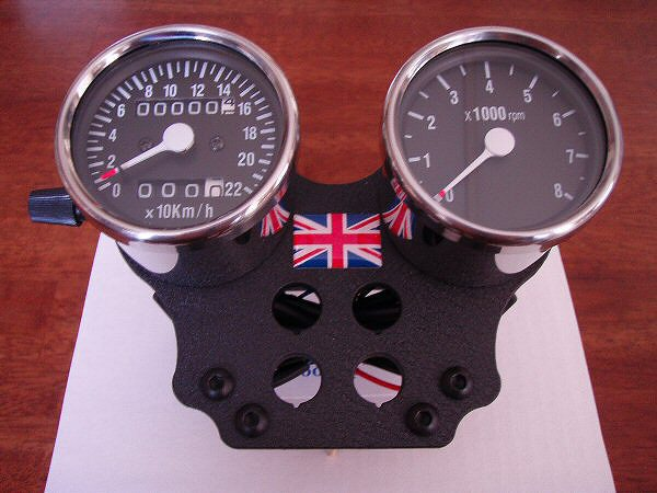Motorcycle Tach Wiring Diagram : A complete speedometer and tachometer kit that fits triumph