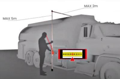 Telefix Vehicle Height Measuring Stick