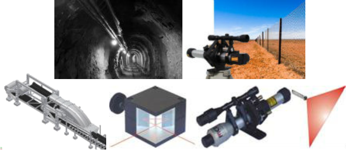 Mining Tunnelling Lasers