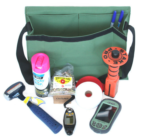 Heavy duty geologist miners bag
