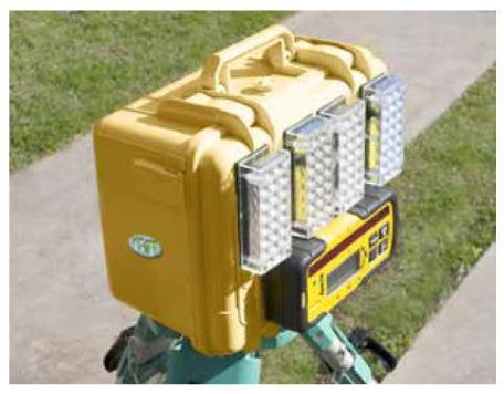 Laser Receiver Lightbox