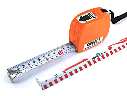 KDS Mini Rod C E-Face Mini Pocket Staff Measuring Tape