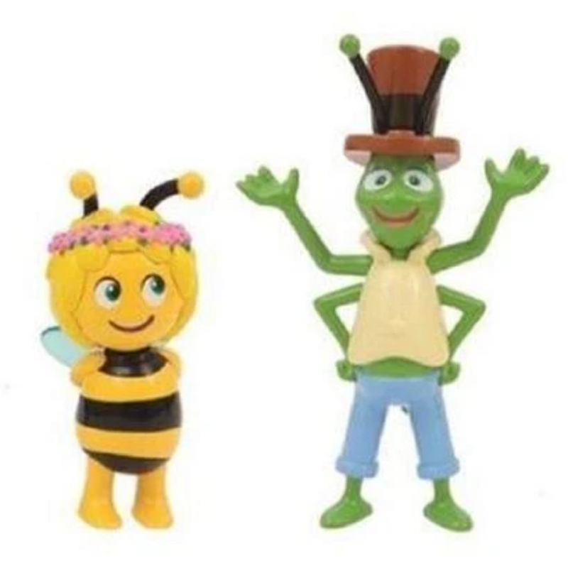 Articulated Character Figures Set of 4 Willy Maya Maya the Bee Flip /& Paul