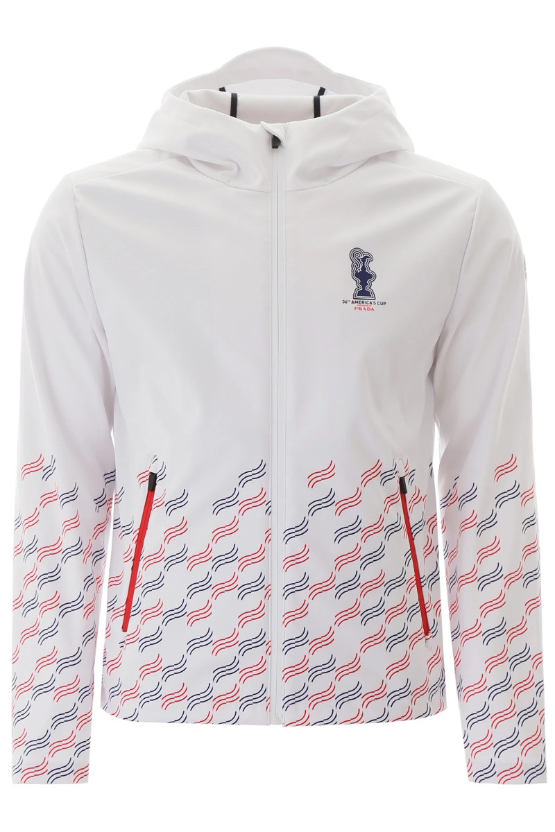 Details about NEW Prada x north sails san diego zipped jacket 450101 000 Combo1 AUTHENTIC NWT