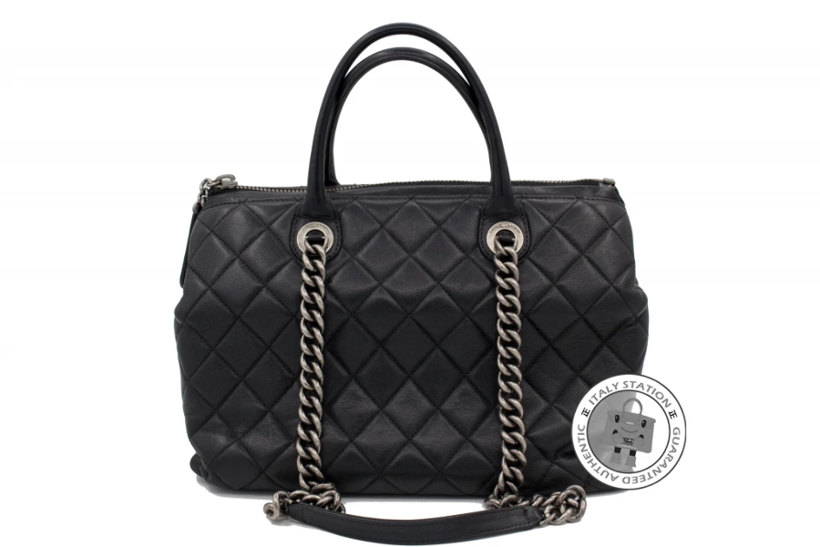 991785de3d2c Used Chanel A92748 Y10466 New Large Chanel Boy Chained Tote Bag ...