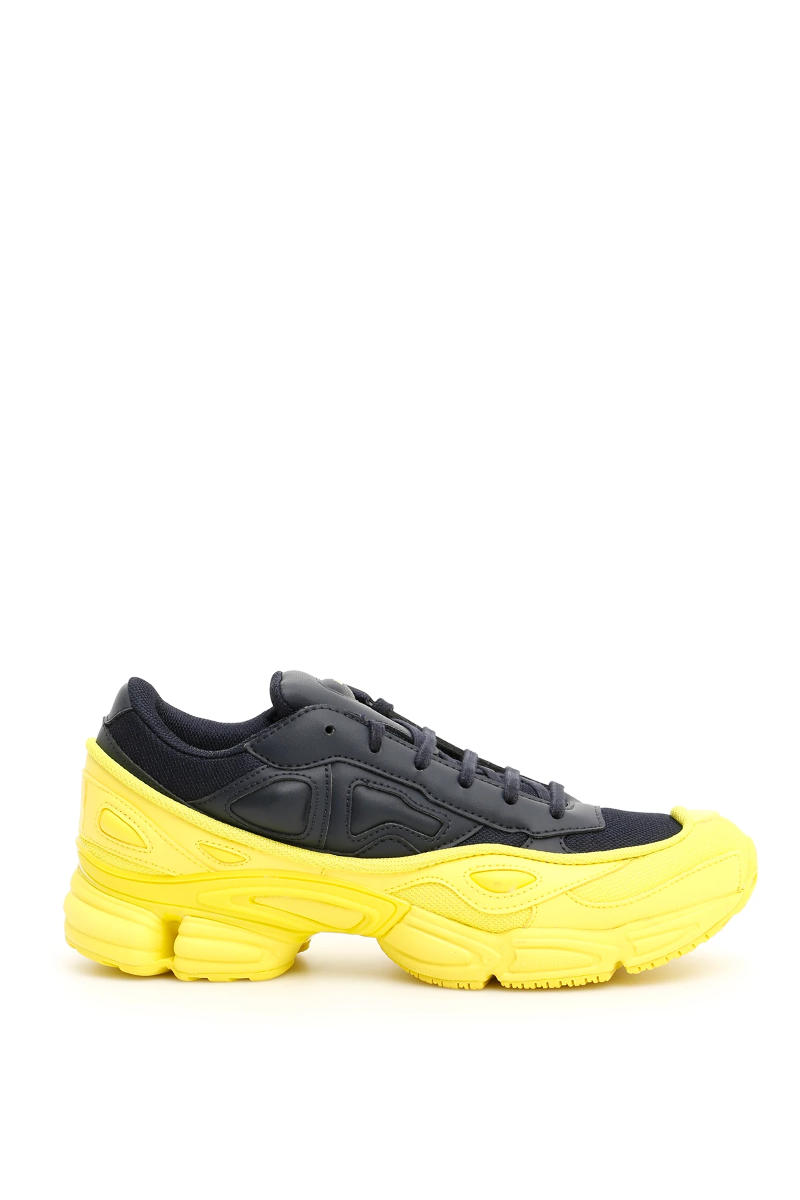 Details about NWT Adidas raf simons unisex ozweego sneakers F34267 Black Yellow Authentic