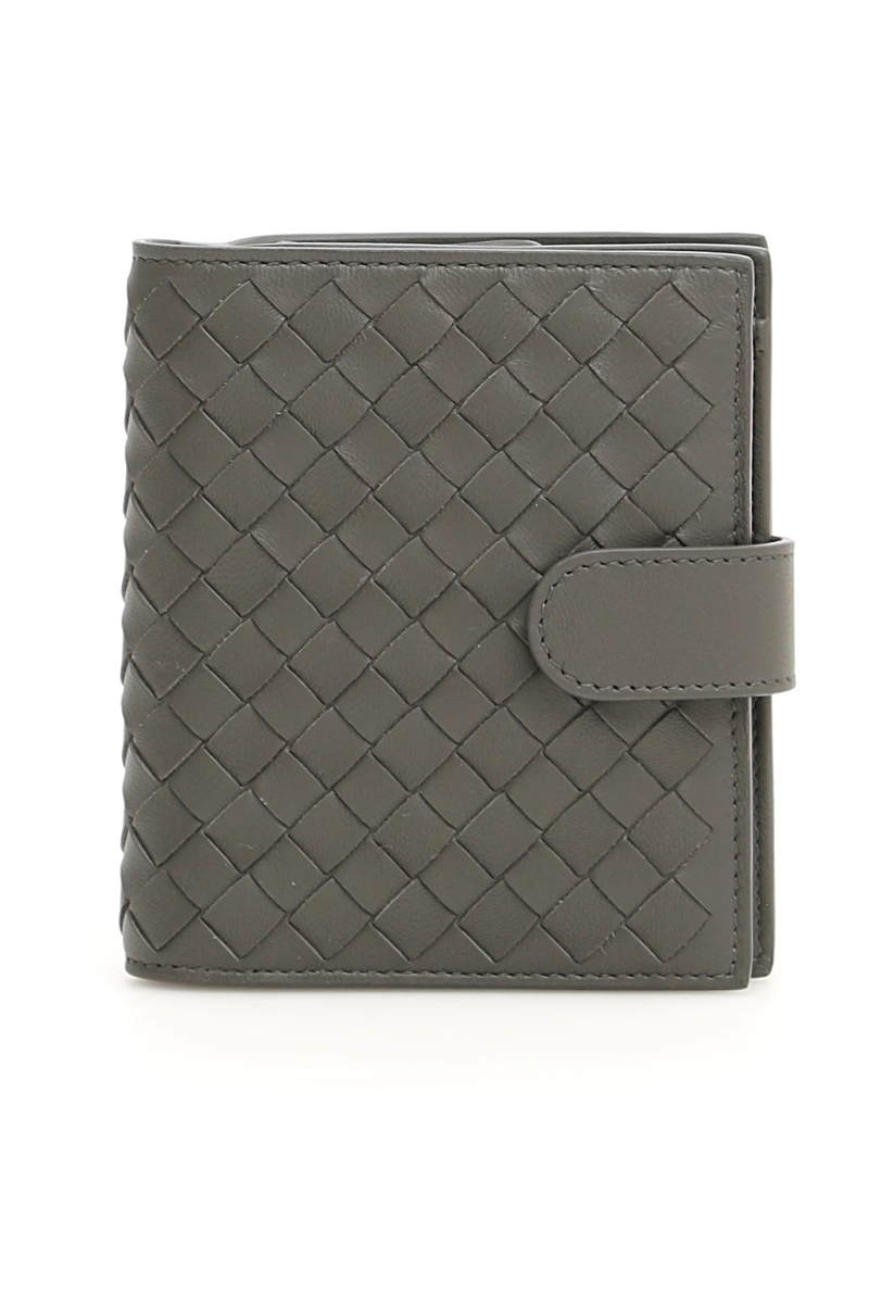 1404ccea4f Bottega veneta intrecciato wallet 121059 V001N New Light Grey - Authentic