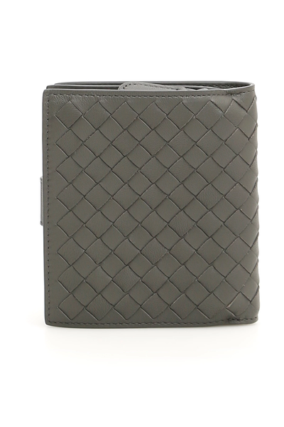 621205ca7fd8 Bottega veneta intrecciato wallet 121059 V001N New Light Grey ...