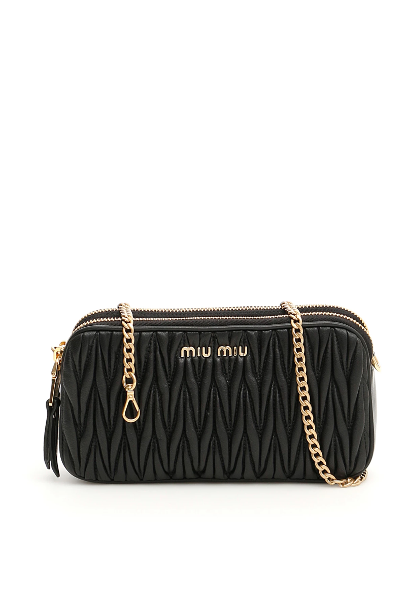 f916c000c51e Miu miu matelassé mini bag 5DH009 N88 F0002 Nero - Authentic