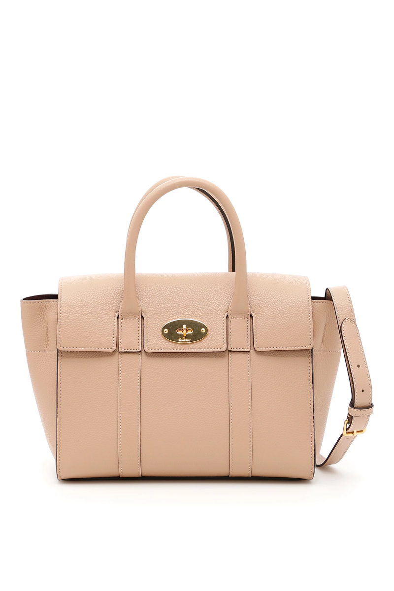 Mulberry small bayswater bag HH3930 205 Rosewater - Authentic  815690aa80e20