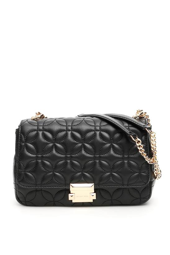 7136ee169fa0 Michael kors quilted leather sloan bag 30H8GSLL3T Black - Authentic ...