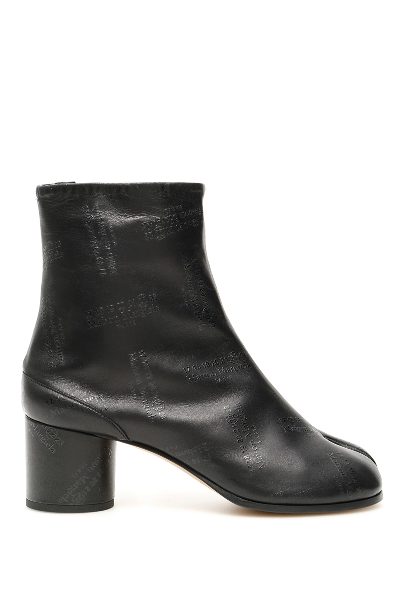 bfe7410c963 Details about Maison margiela tabi boots 60 S58WU0246 P2354 Black -  Authentic