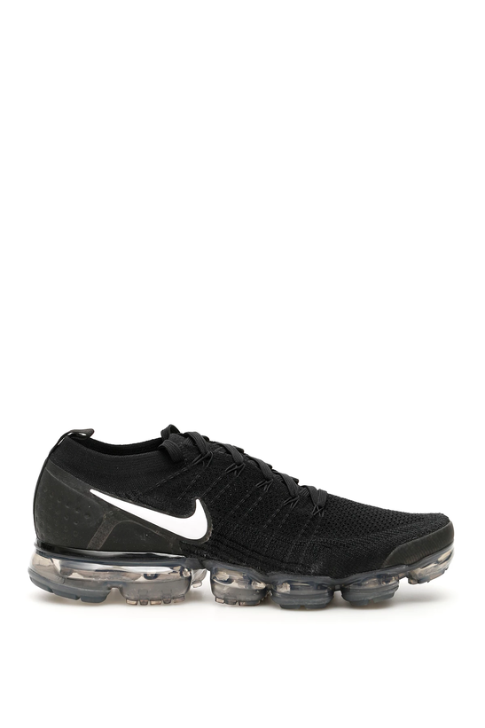 18013704b7b Nike air vapormax flyknit 2 sneakers 942842 001 Black White Dark Grey -  Authentic