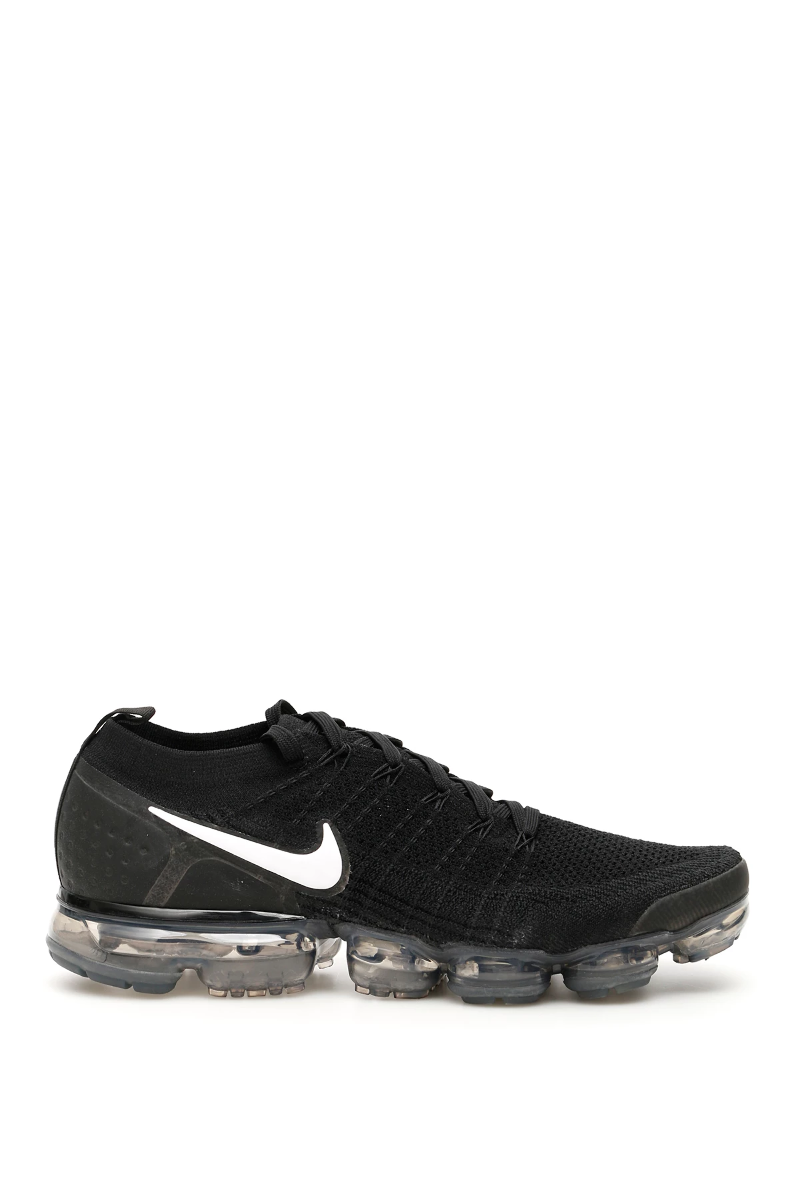 4580b765c6d Nike air vapormax flyknit 2 sneakers 942842 001 Black White Dark Grey -  Authentic