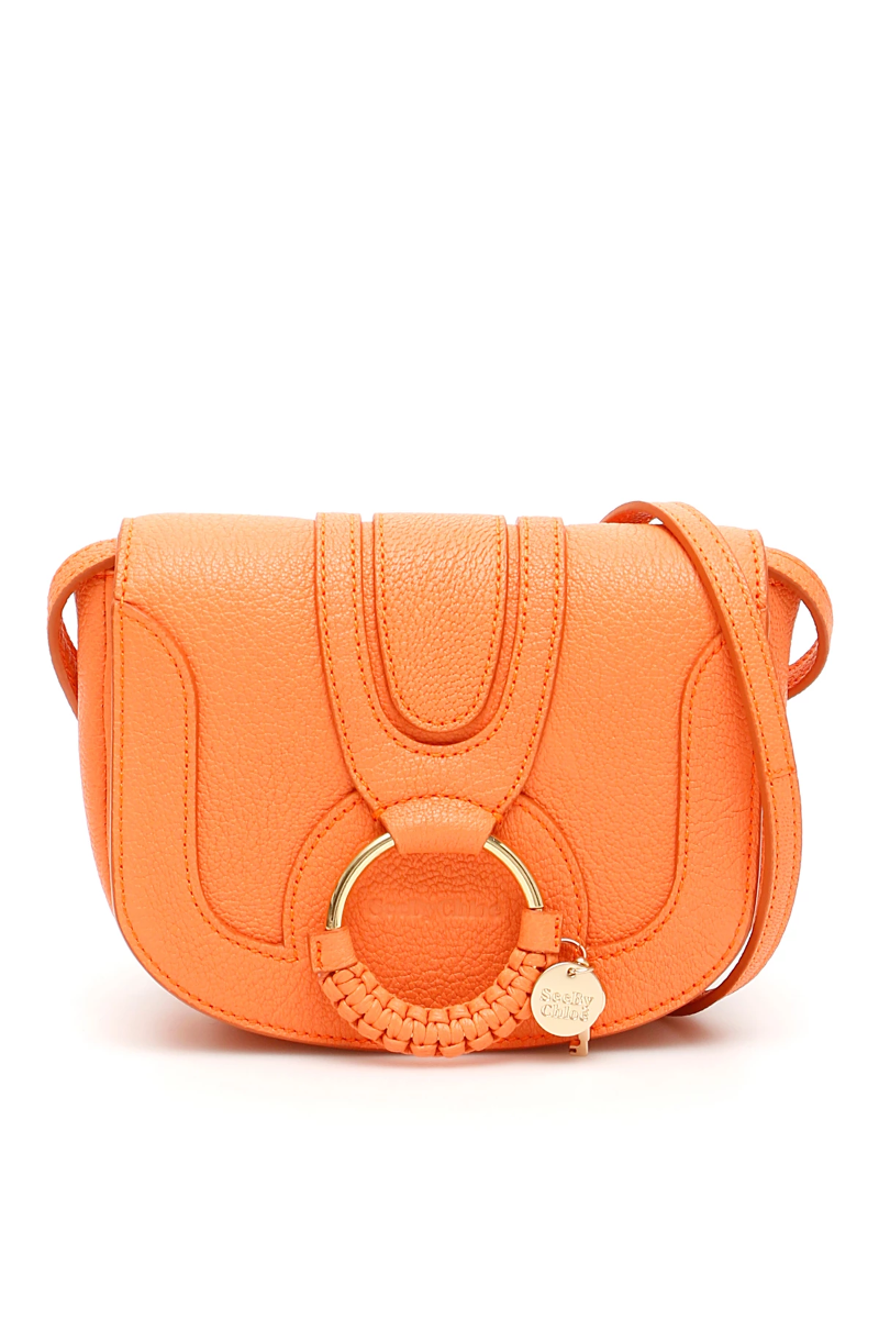 9e55d78e Details about See by chloé mini hana shoulder bag CHS17AS901305 Sparkling  Orange - Authentic