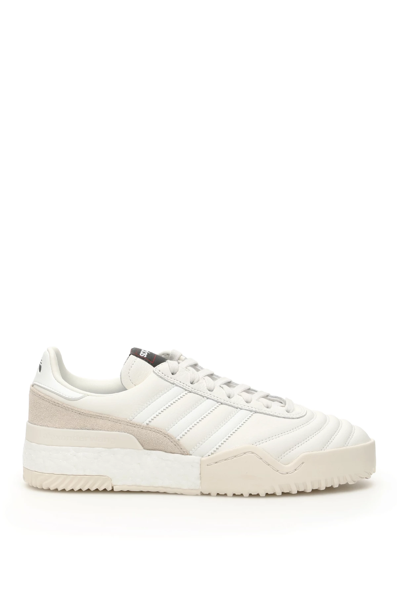 Details about Adidas by wang aw bball soccer sneakers EE8498 Core White Chalk Pearl Authenti