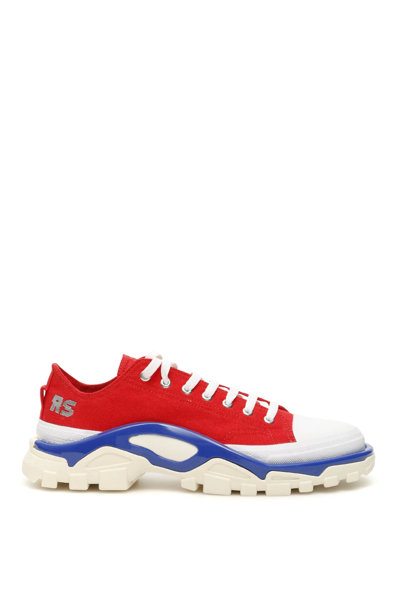 Details about NWT Adidas raf simons unisex rs detroit runner sneakers EE7936 Red Silvmt Boblue