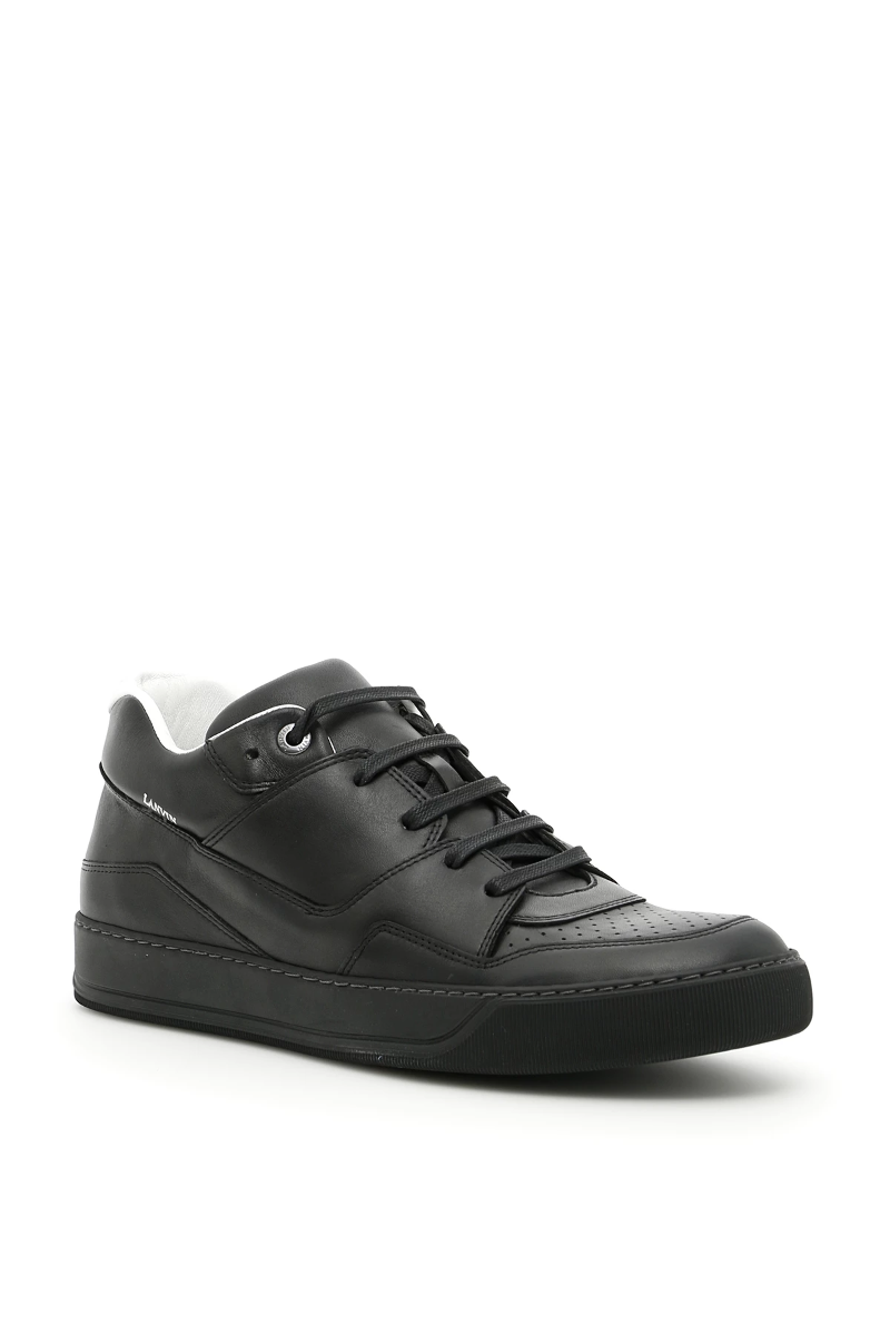 0230226e0e6 Lanvin calfskin sneakers FMSKDBNVVENAA17 Black - Authentic | eBay