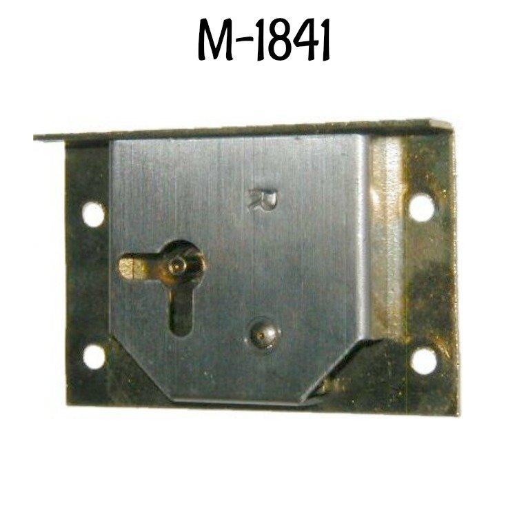 Half Mortise Brass Lock With Key