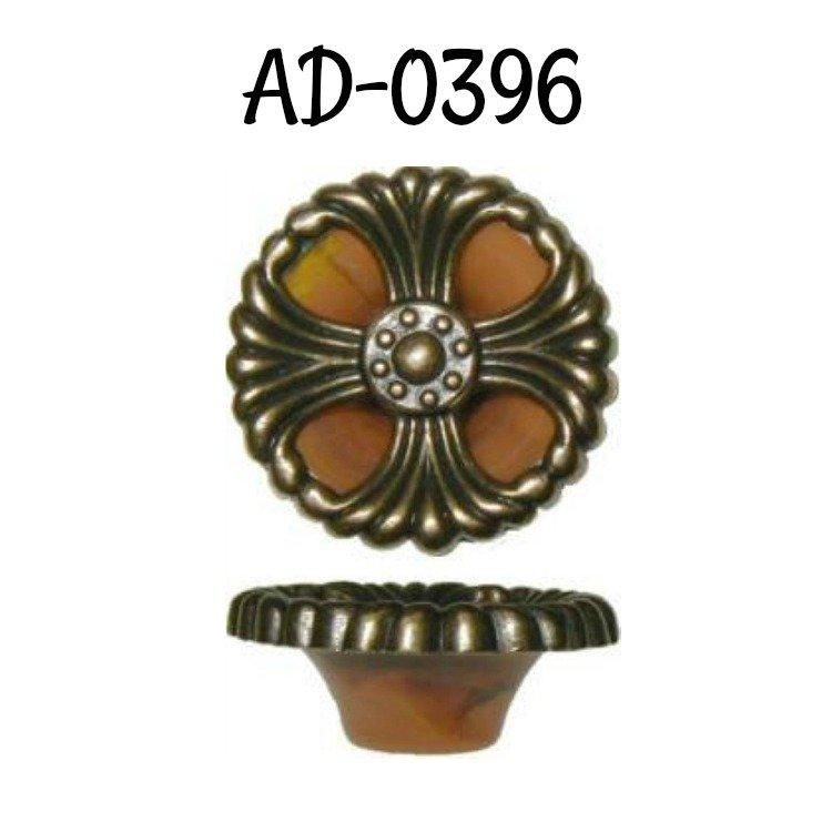 Waterfall Style Drawer Pull tortoise shell bakelite antique brass