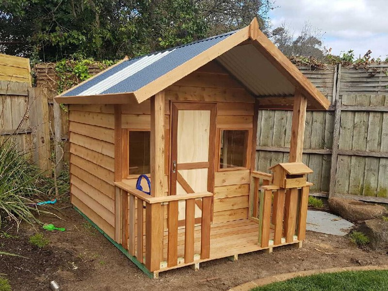 Terrific Details About Cubby House The Gamekeepers Cottage Timber Play House Beutiful Home Inspiration Xortanetmahrainfo