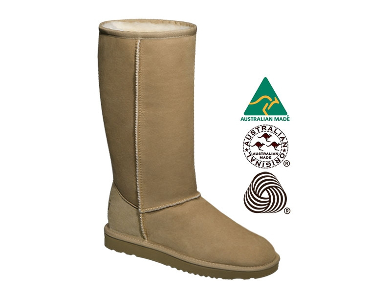 0597ad2a403 Details about AUSTRALIAN ORIGINAL ® Classic Tall sheepskin snow boots made  in Australia