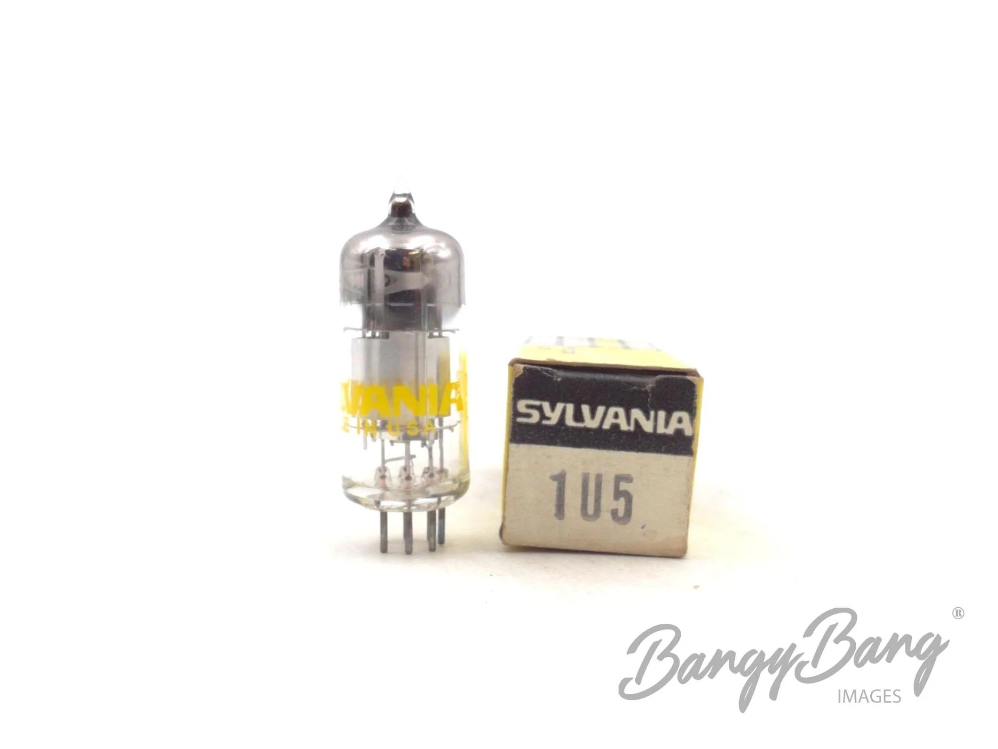 BangyBang Tubes 2 Vintage RCA 1U5//DAF92 Diode Pentode Portable Radio Valve