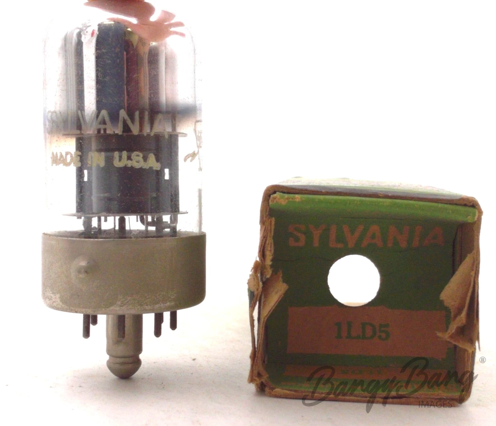 BangyBang Tubes Vintage Philco 1LD5//CV778 Diode Pentode Dry Battery Radio Valve