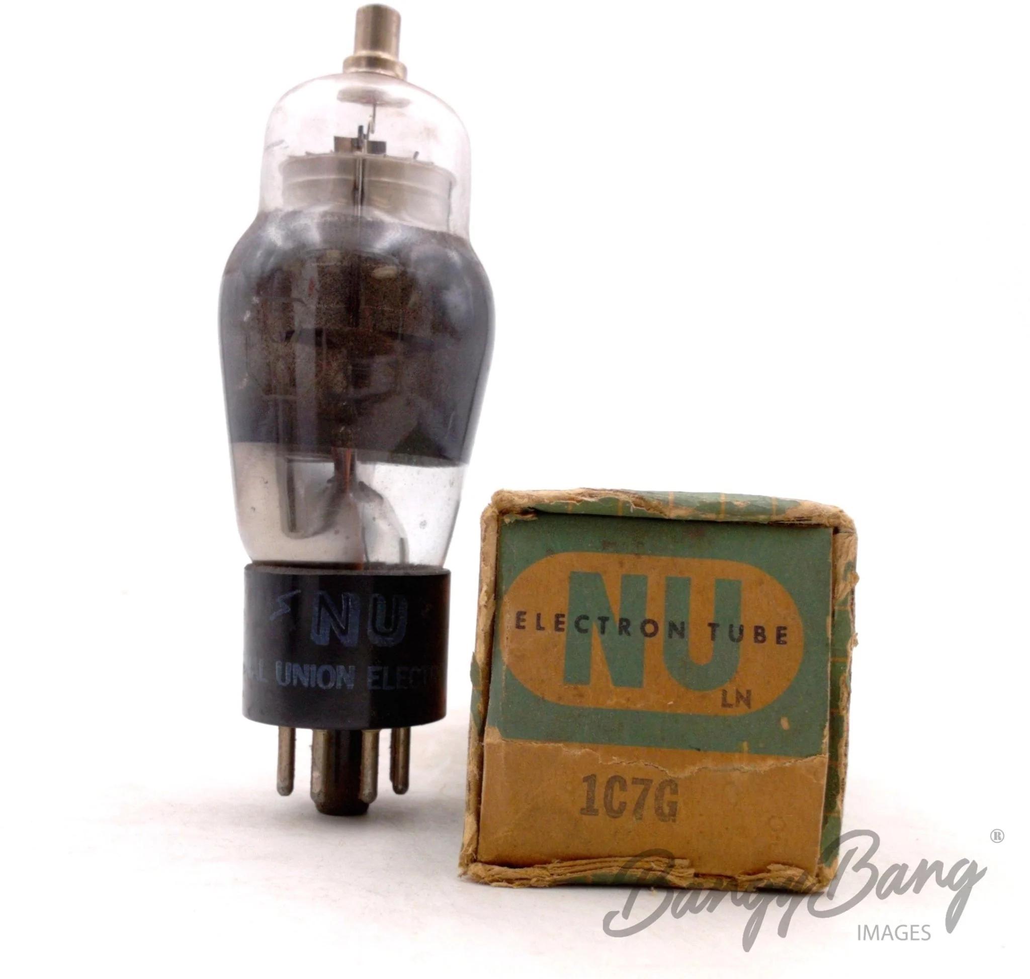 BangyBang Tubes 2 Vintage General Electric 1A7GT//VT147 Pentagrid Converter Heptode Radio Valve