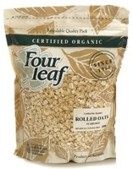 Four Leaf Stabilised Organic Rolled Oats 800g