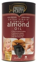 Almond Sweet  - Pressed Purity unrefined  1.5 litre