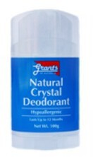 Grants Natural Crystal Deodorant 100g