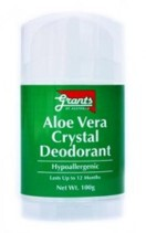 Grants Aloe Vera Crystal Deodorant 100g