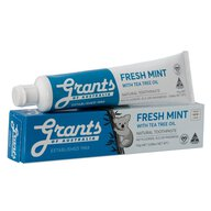 Grants - Fresh Mint toothpaste - with Tea Tree oil