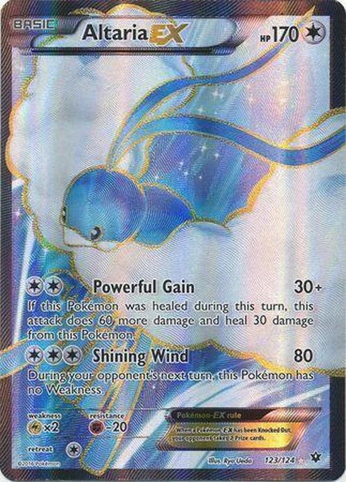 Full Art Ultra Rare 123//124 XY: Fates Collide Pokemon: Altaria-EX