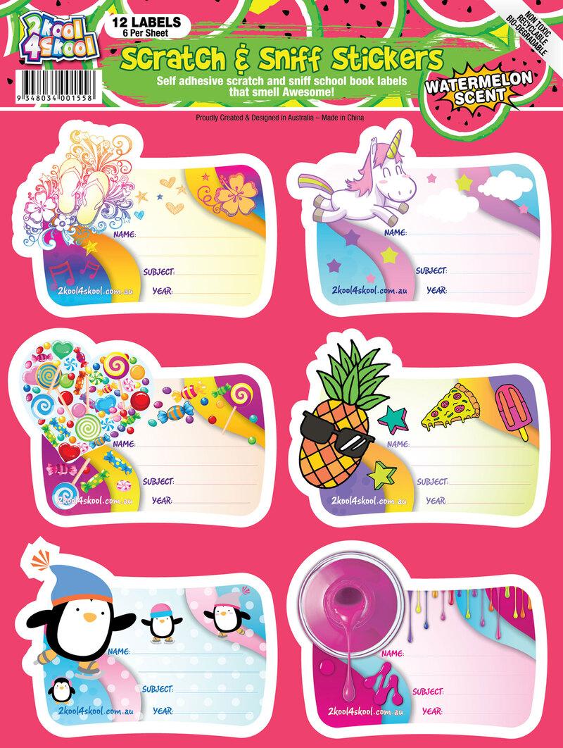 Book Labels For Kids Photo Album - Sabadaphnecottage