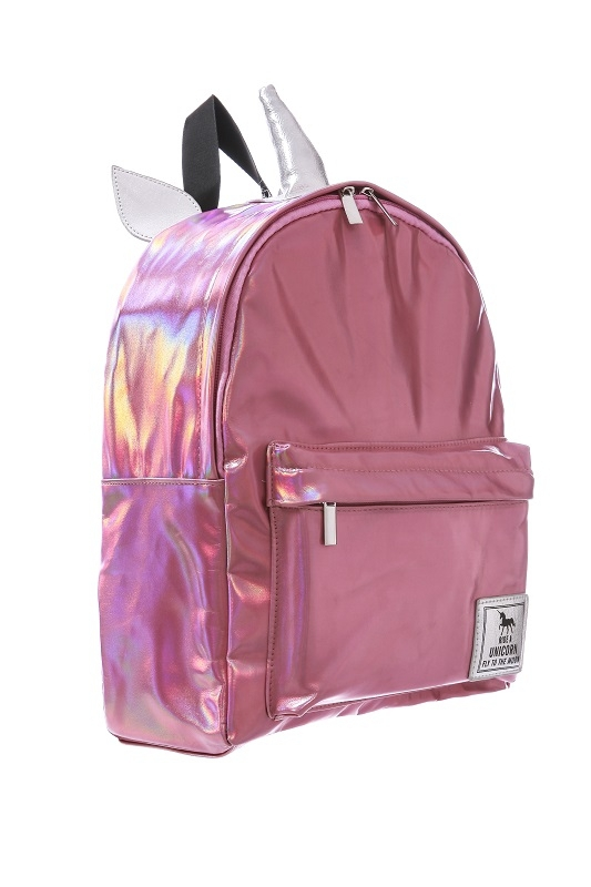 Six Bunnies Rainbows Backpack Kids Toddler Pink Unicorn Black Cool Gift Skull