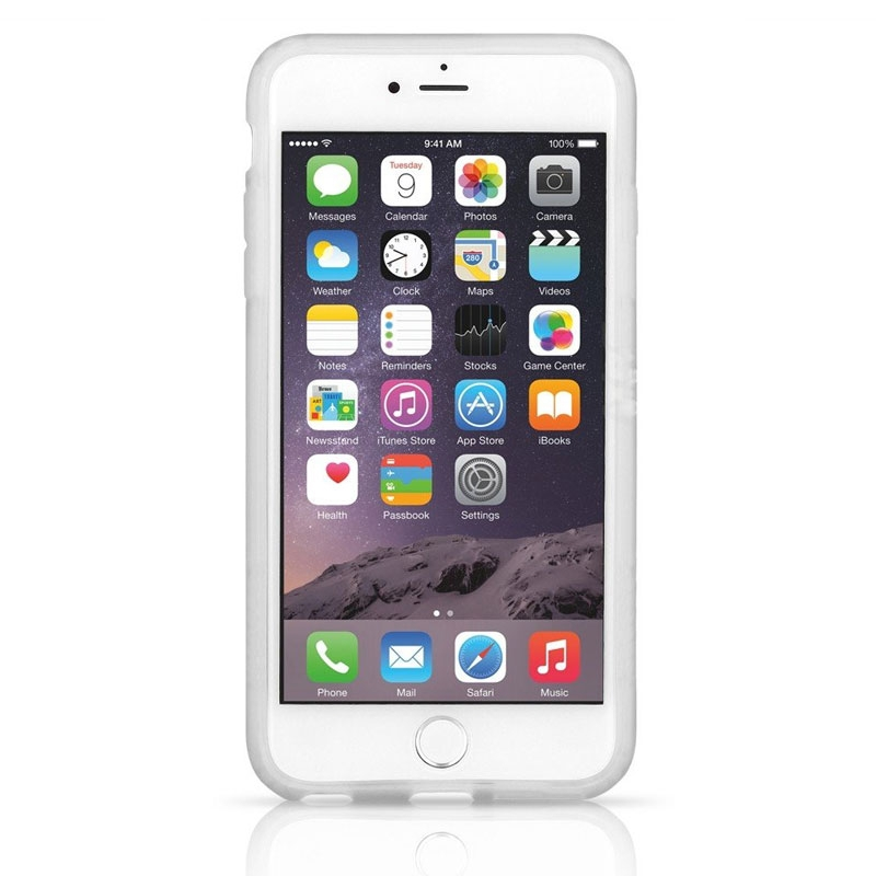 meet cf90a 5a5cb Details about Pelican Adventurer Case for Apple iPhone 6s / 6 - Clear/White