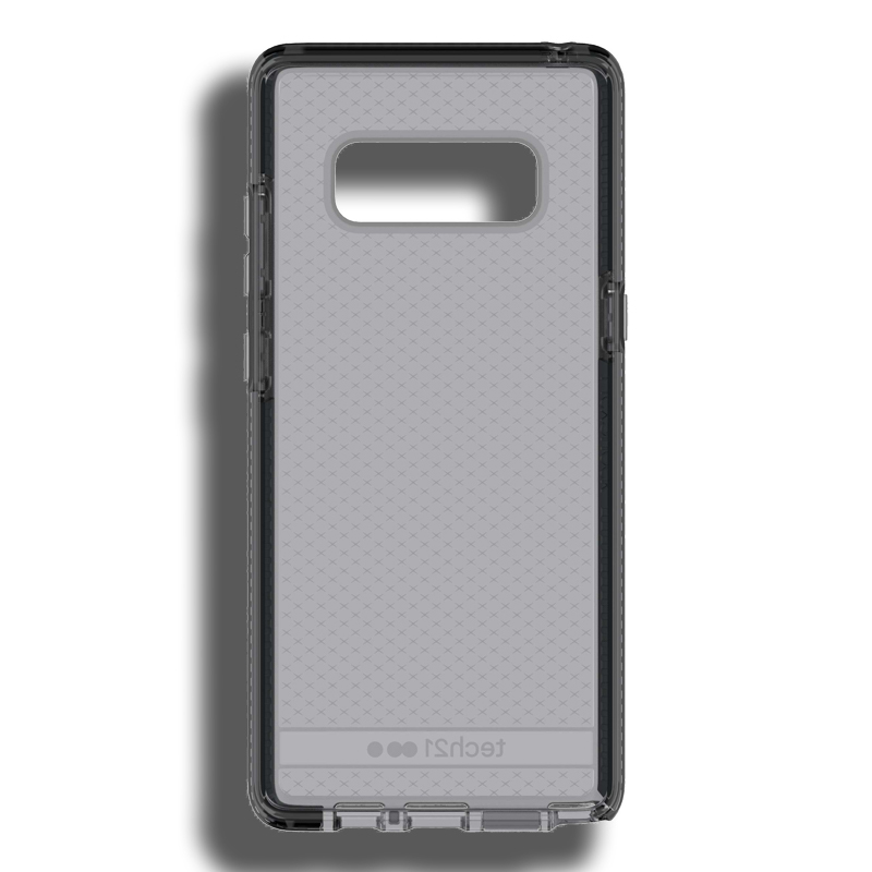 cheap for discount 0b3ee d85c1 Details about Tech21 Evo Check Case For Samsung Note 8 - Smokey/Black
