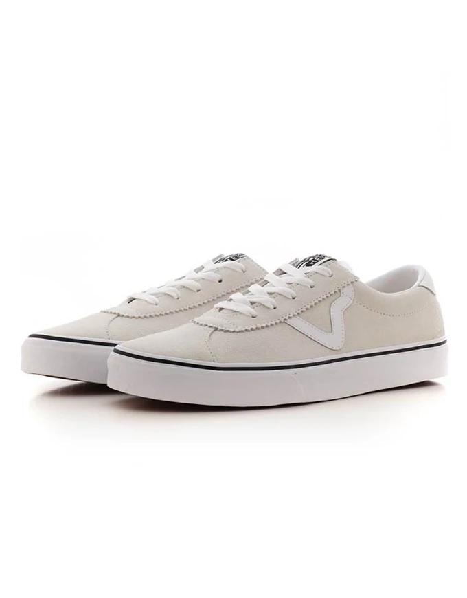Vans Sport Shoe | Suede White | eBay