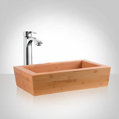 Details About Seward Bamboo Vessel Sink
