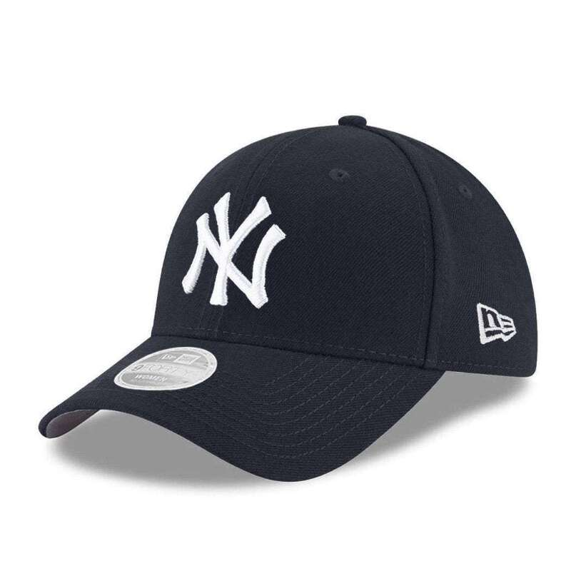 brand new a4e17 d46e7 Womens New York Yankees New Era MLB Team 9FORTY Curve Hat - Navy