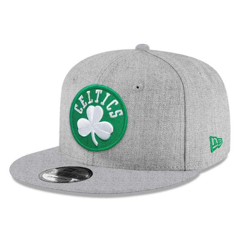 new style 96c64 31ed4 Youths Boston Celtics New Era NBA Heather Team 9FIFTY Snapback Hat