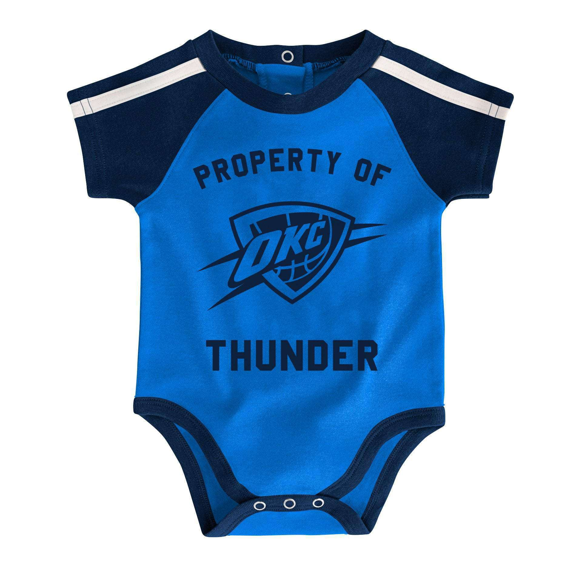 Outerstuff NBA Newborn Infants Rebound 3 Piece Creeper Bib and Bootie Bodysuit Set