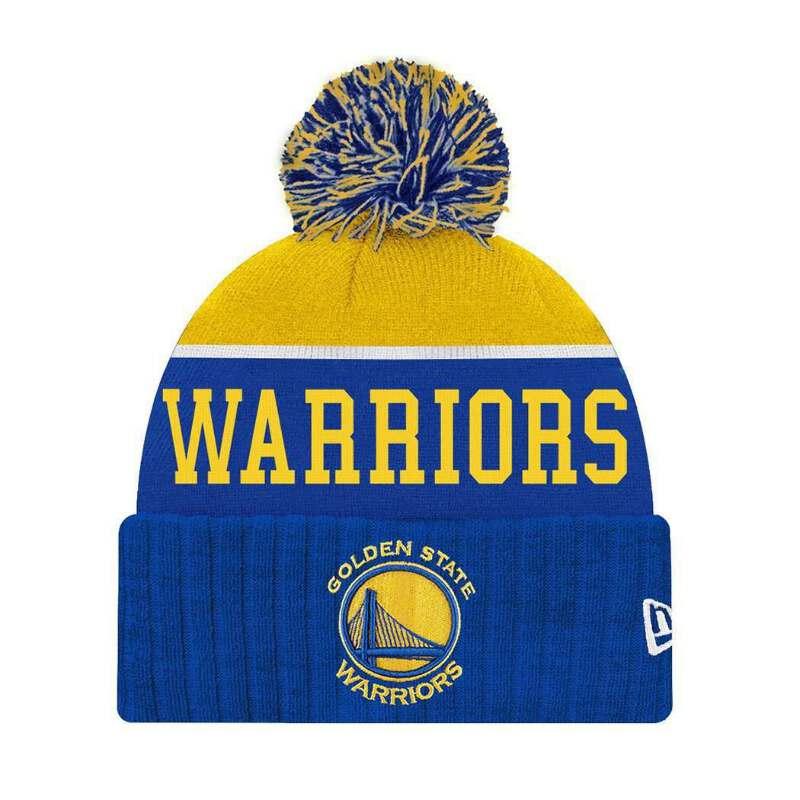 997d1a50a Youths Golden State Warriors New Era NBA Team Dip Beanie - Blue ...