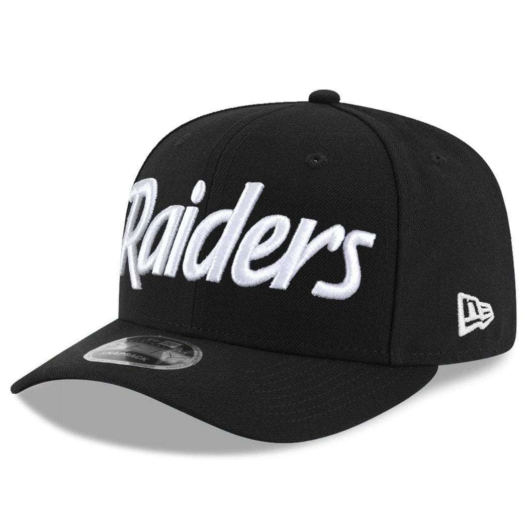 d8cbe52d534 ... coupon code for oakland raiders new era nfl script pre curved of 9fifty snapback  hat black