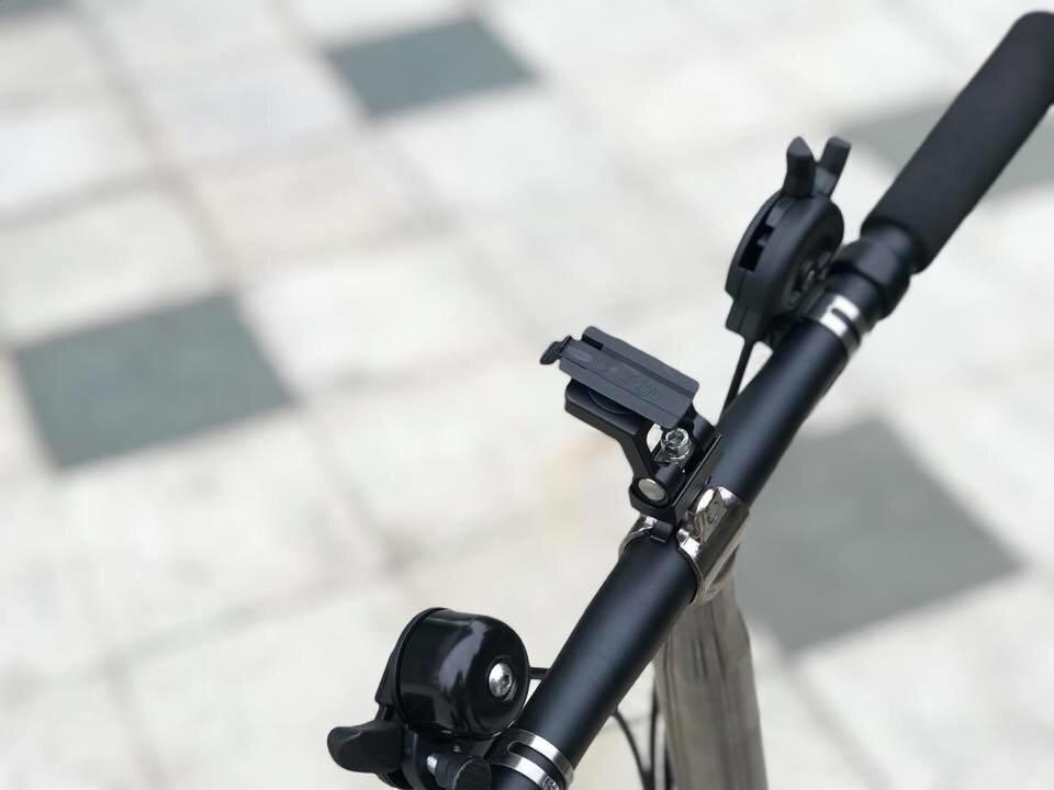 Trigo Brompton Birdy Bicycles Moto Phone GPS Mount Head tube Seat Post
